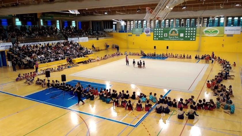 Imagen de archivo del Pabellón de Deportes de El Ejido.