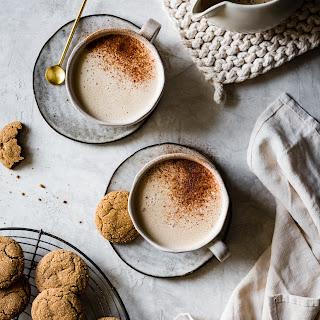 Creamy Cashew Gingersnap Lattes {vegan}.