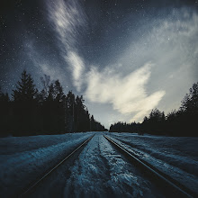 Photo: Night Tracks I used one of my Phase presets to edit the colors in this one. Learn more about the presets on my blog: http://www.mikkolagerstedt.com/blog/2015/1/27/how-to-use-lightroom-presets-collection-phase  Enjoy your weekend!  #lightroom5  #lightroompresets  #fineartphotography