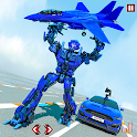 Flying Car Games - Super Robot Transformation Game icon
