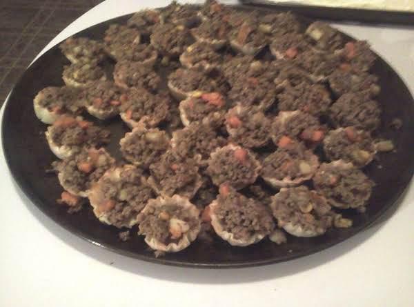 Curried Beef Vegetable Bites