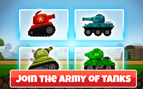 Mini Tanks World War Hero Race - náhled