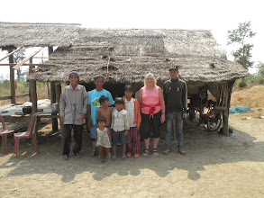 Photo: Sip Sakhorn provided with breeding calf and metal roof for hut by CLMF