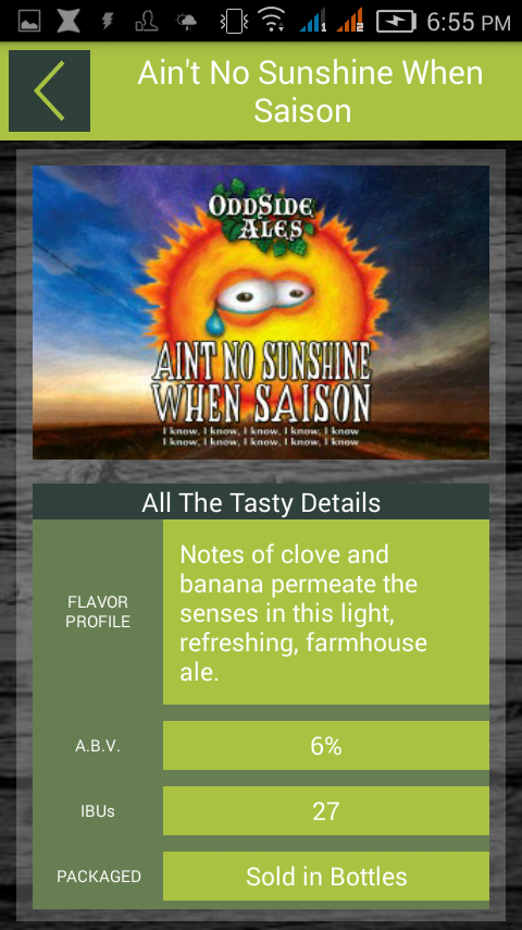 Odd Side Ales- screenshot