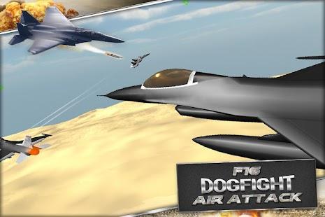 F18 F16 Letecký útok - náhled