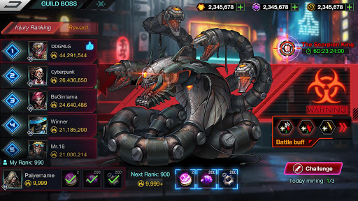 Battle Night: Cyber Squad-Idle RPG apkpoly screenshots 7