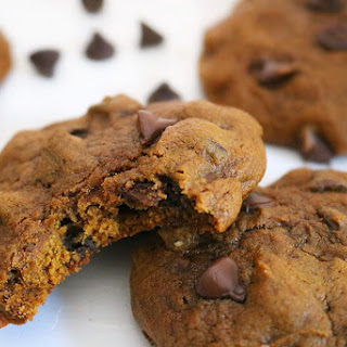 Pumpkin Chocolate Chip Cookies- With a Twist!