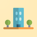 Flutter Material City icon