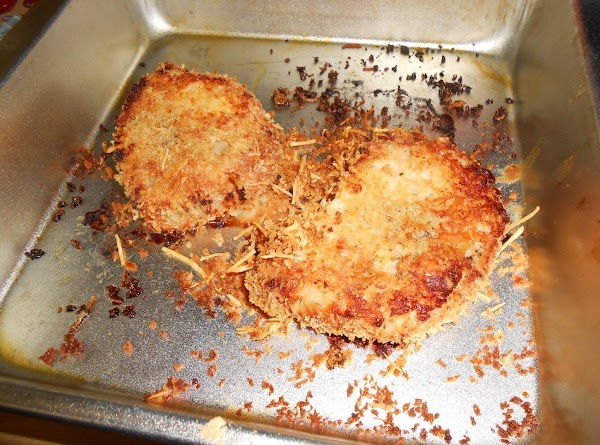 Bake pork chops in a preheated 375-degree oven for 40-50 minutes, turning once halfway...