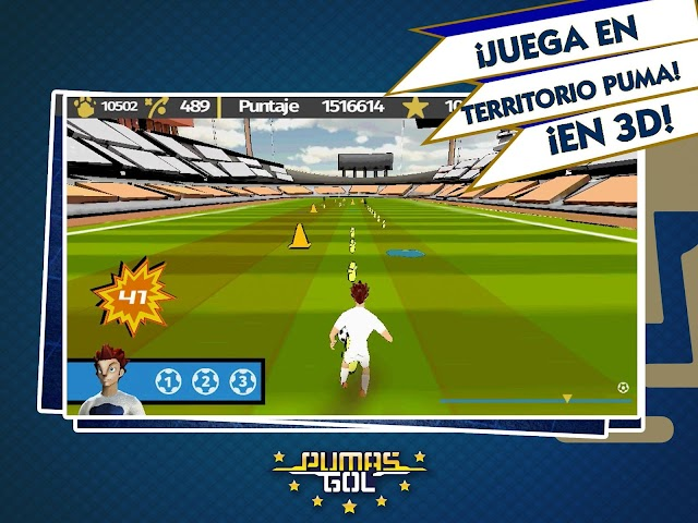 android Pumas Gol Screenshot 3