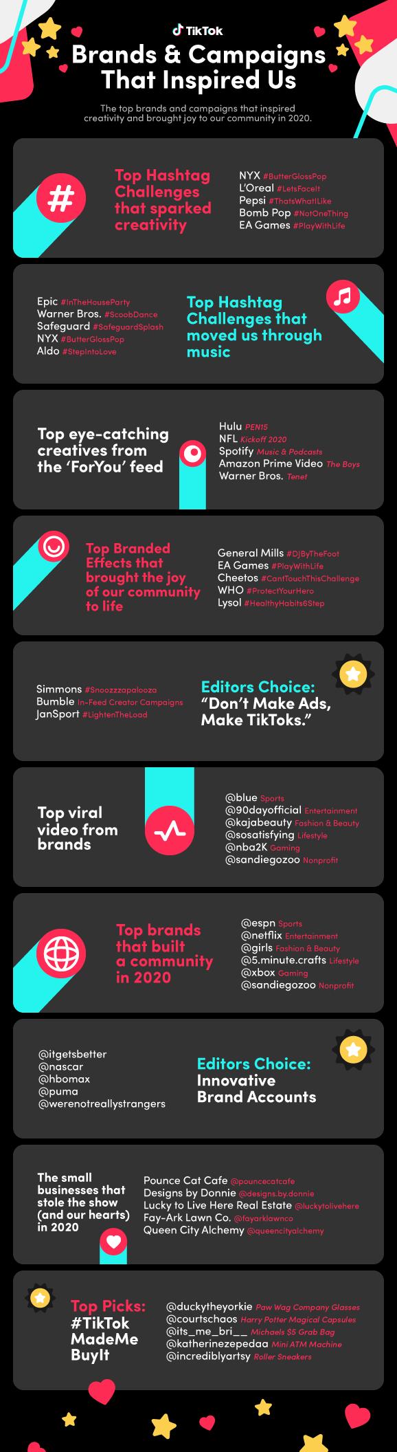 TikTok infographic.