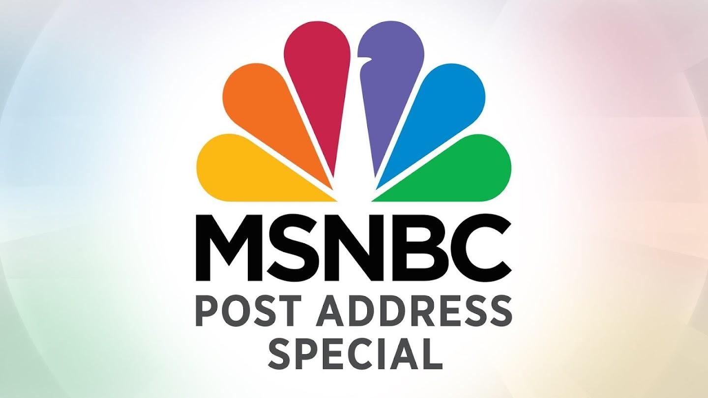 MSNBC Post Address Special