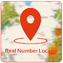 Mobile Real Number Locator icon