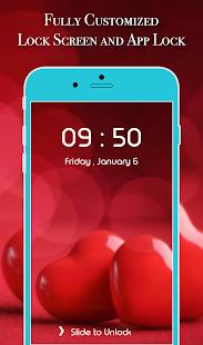 App Lock Theme - Love - náhled