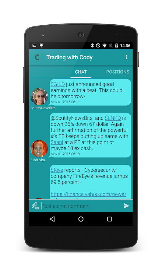 Trading with Cody- screenshot