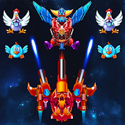 Chicken Shooter Galaxy Attack Mod Apk (v2 6) + Unlimited Money