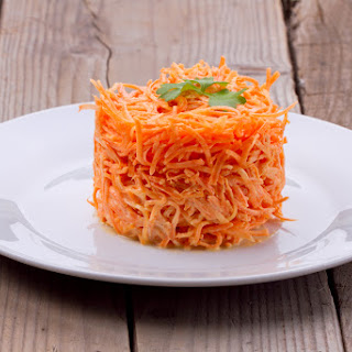 Quick Moroccan Spiralizer Carrot Rice.