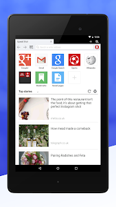 Opera Mini web browser vBeta 9.0.1829.92366