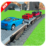 Car Cargo Train Transport 3D Icon