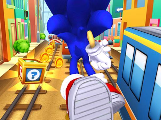 Subway Sonic Surf Run