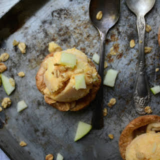 Apple Pie Ice Cream Bowls.