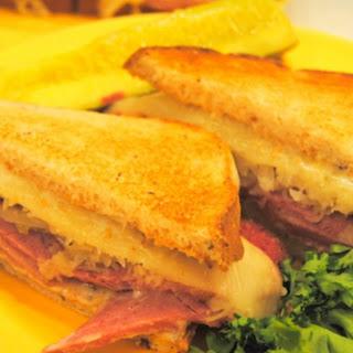 Reuben Sandwich with Nana Sauce Recipe