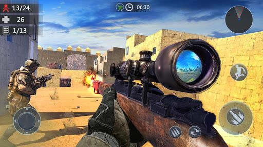 Gun Strike: Real 3D Shooting Games- FPS 2.0.2 Screenshots 1