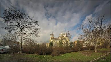 "Photo: Biserica Ortodoxa - ""Invierea Domnului""  - Calea Victoriei,nr.31 - vedere dinspre Str. Univers - 2018.03.28"