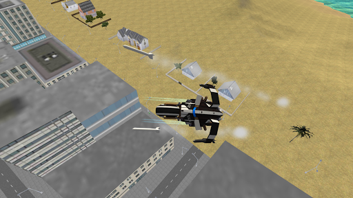 Flying Police Motorcycle Rider screenshot 3