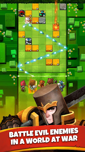 Battle Bouncers - RPG Puzzle Bomber & Crusher 1.11.0 screenshots 1