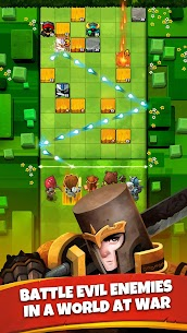 Battle Bouncers Mod Apk 1.1.1 (Unlimited Gold + Gems) 1