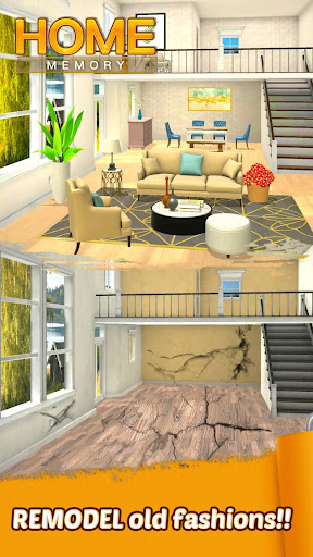 Home Memory: Word Cross & Dream Home Design Game - screenshot