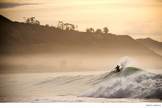 Photo: Photo of the Day: Luke Davis, Santa Barbara. Photo: Gordon #Surfer #SurferPhotos