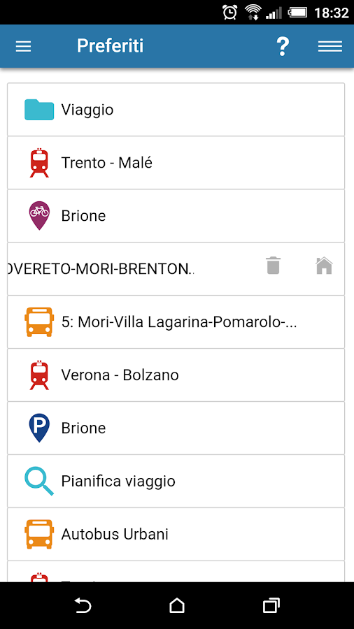 ViaggiaRovereto- screenshot