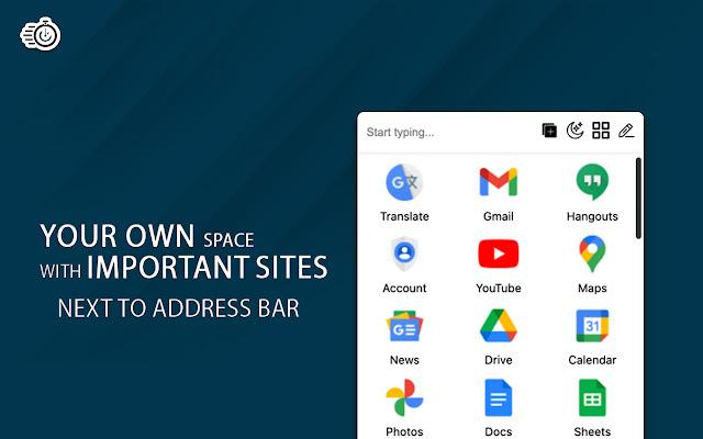 Quick - Google Sites Launcher