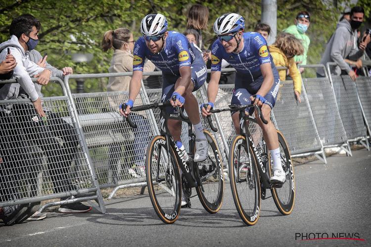 """Eén en twee voor Deceuninck-Quick-Step in de vijfde etappe van de Ronde van het Baskenland: """"Een dag die we ons altijd zullen herinneren"""""""