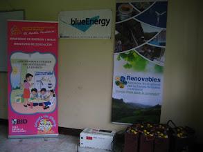 Photo: Evento coordinado por Ministerio de Energía y Minas/ MEM / MINED/ BlueEnergy / Asociación Renovables apoyada por Fondo Común y el Programa Euro-Solar