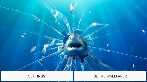 玻璃碎片 動態壁紙|玩個人化App免費|玩APPs
