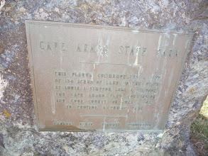 Photo: Cape Arago State Park Sign