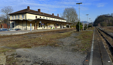 Photo: Schwäbisch Hall, Bahnsteig 2