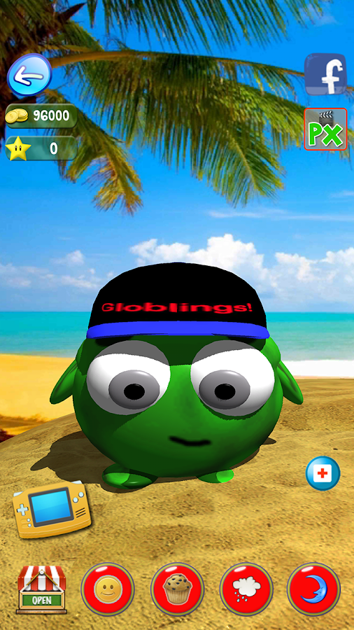 The Globlings virtual pet game- screenshot