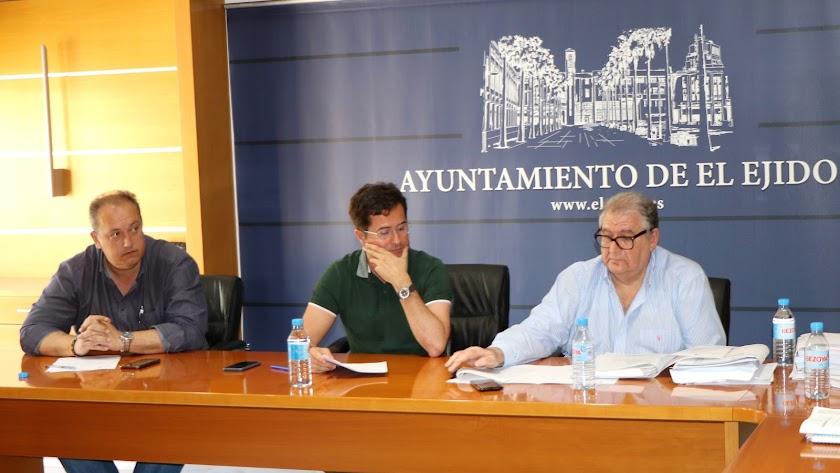 Junta de Gobierno en el Ayuntamiento de El Ejido.