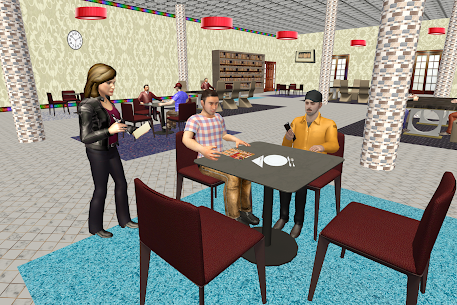Virtual Waitress : Hotel Manager Simulator 1