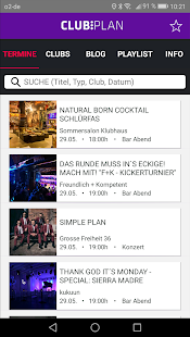 Clubplan - Musik in Hamburg- screenshot thumbnail