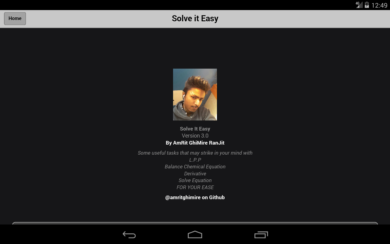 SolveItEasy- screenshot