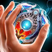 Beyblade 게임 손 회 전자 가짜 장난감
