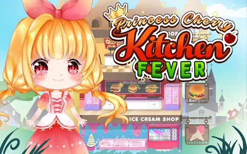 Princess Cherry Kitchen Fever: Royal Cooking Game - náhled