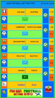 Safe Football Betting Tips Gratis