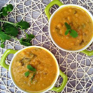 Jerusalem Artichoke, Carrot and Potato Soup [vegan]