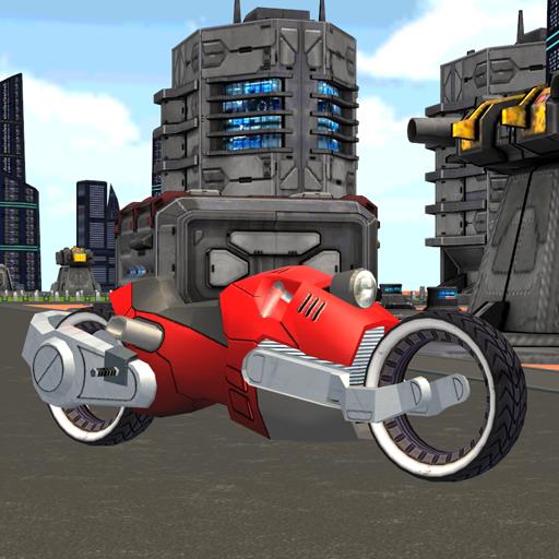 賽車遊戲App|将来のサンアンドレアスオートバイ LOGO-3C達人阿輝的APP
